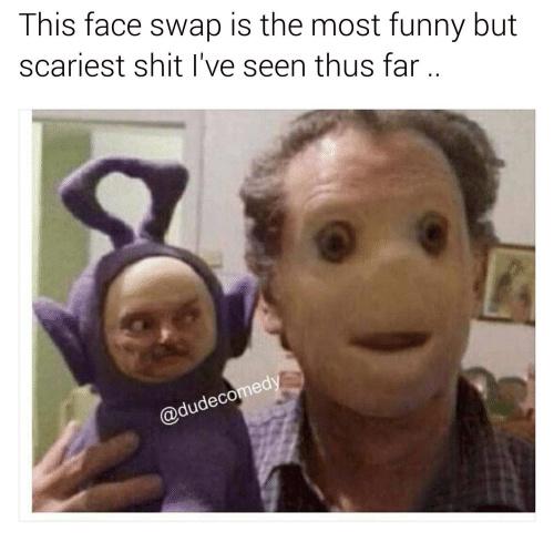 yeeee scary - meme