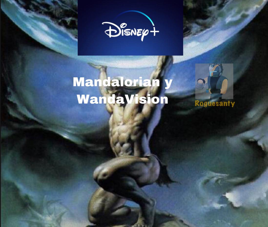 También iba a poner Clone Wars pero mucha gente no lo considera como un factor decisivo al comprar Disney+ - meme