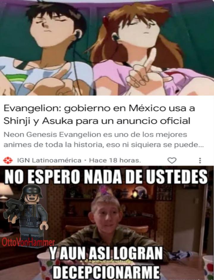 Me refiero al Gobierno Mexicano - meme