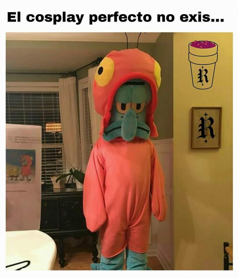 En cosplay perfecto - meme