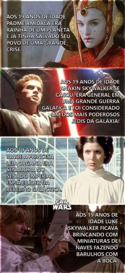 Eu sou o Luke - meme