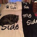 No more her side only dog side