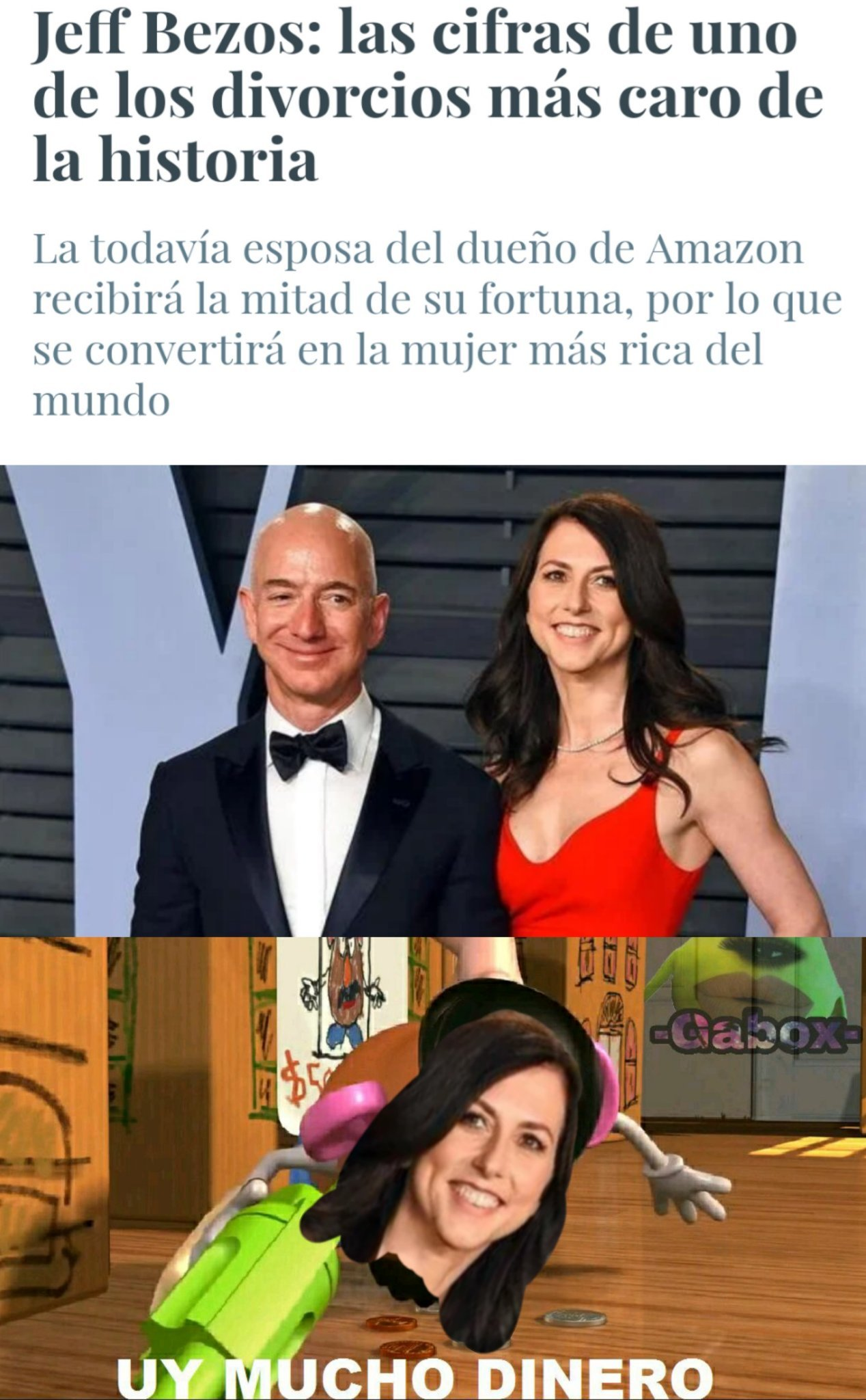 Divorcio Amazon - meme