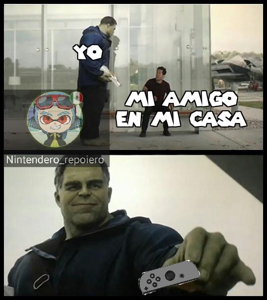 A jugar Smash se ha dicho :D - meme