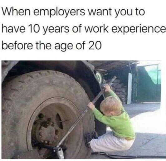 It's an intro position - meme