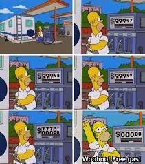 Free gas... oh yeah!! - meme