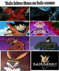 todos los super heroes tienen un lado oscuro :v - meme