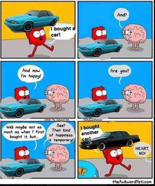 Can't get enough cars - meme