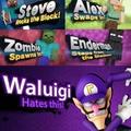 Poor waluigi