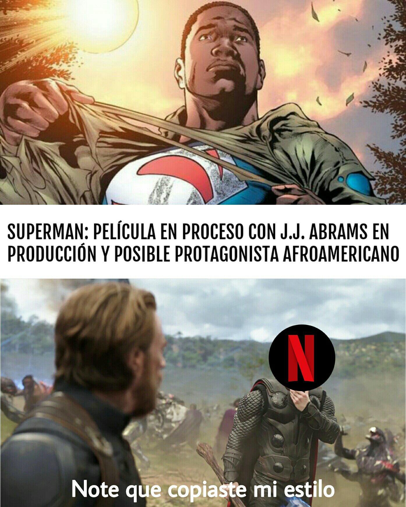 Nuevo reboot de Superman WTF - meme