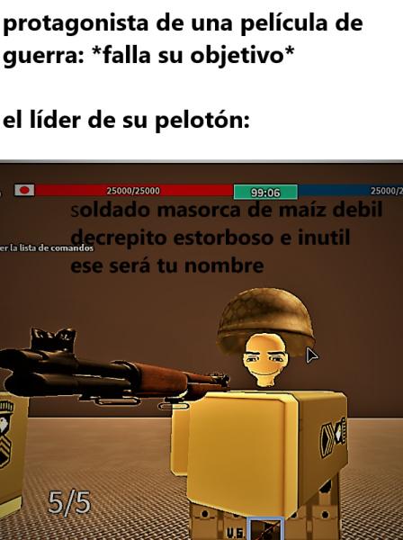 soldado mazorca - meme
