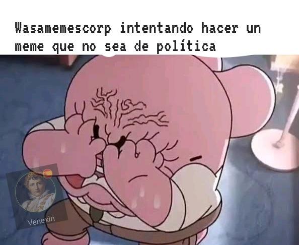 O también que no sea sobre Venezuela - meme