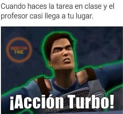 Accion turbo - meme