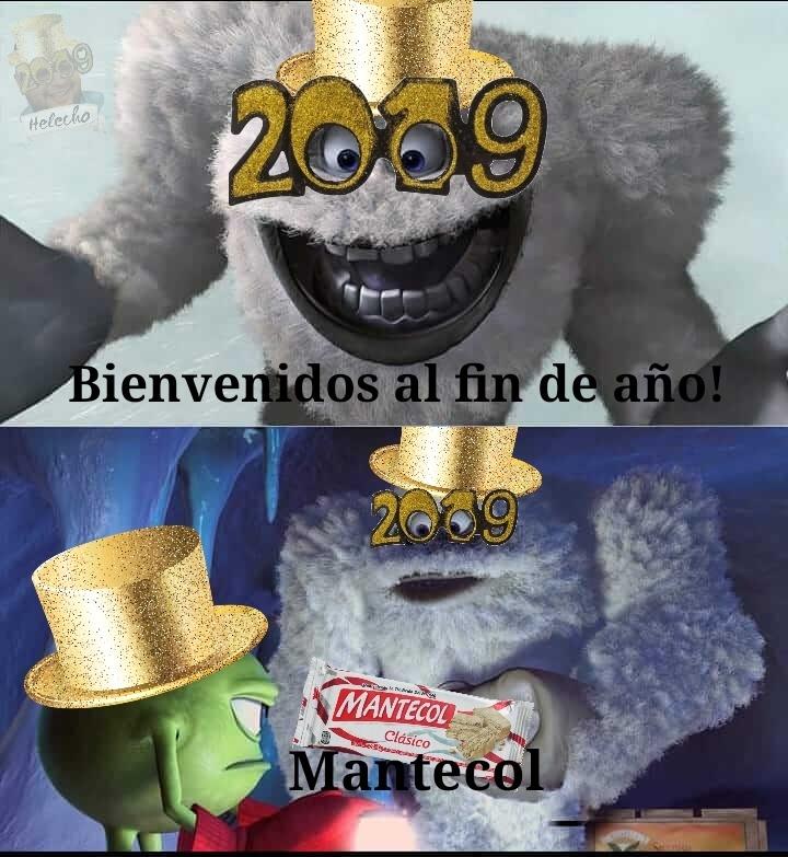 Lo subo antes de año nuevo - meme