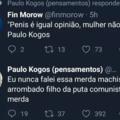 Belas palavras Fin Morow