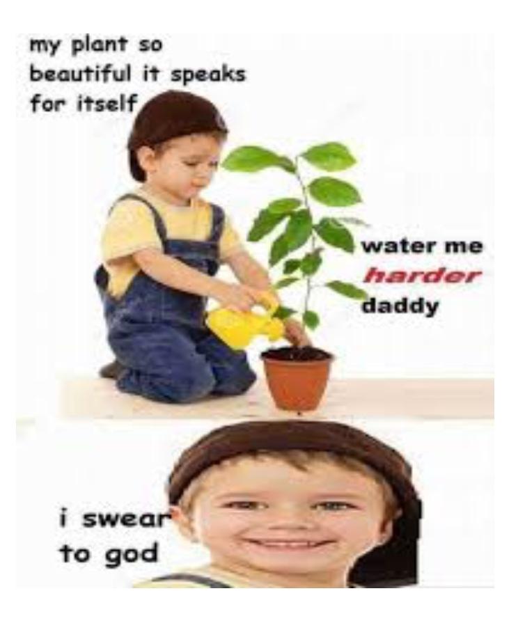 Water me - meme