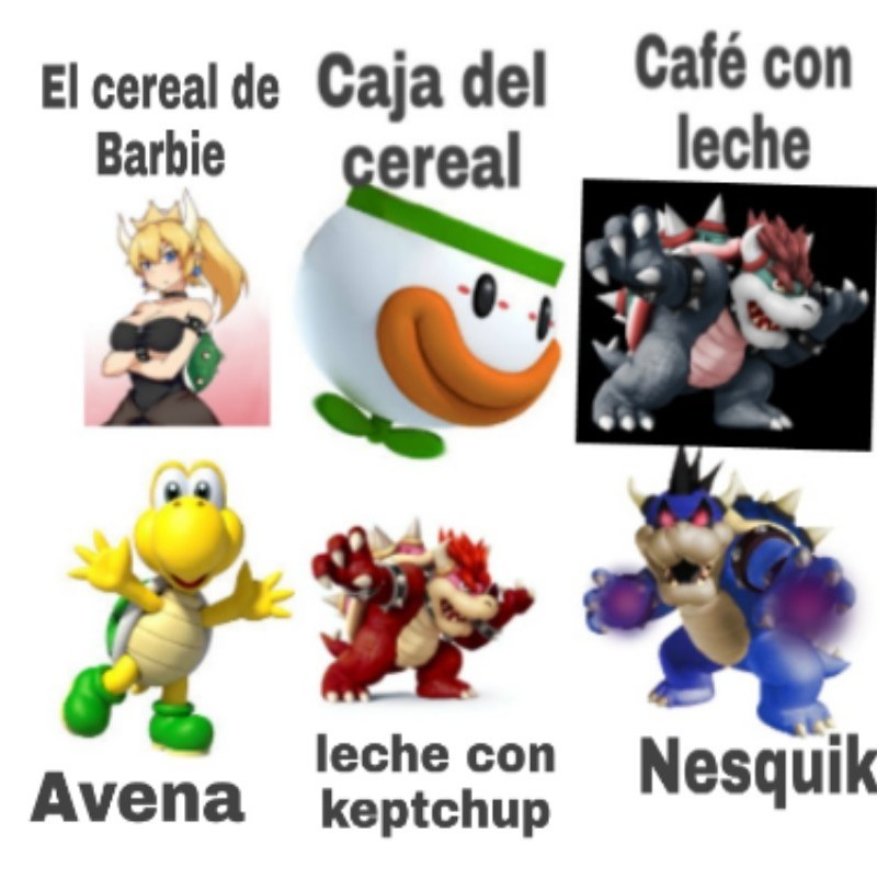Cereal bowser vol.2 - meme