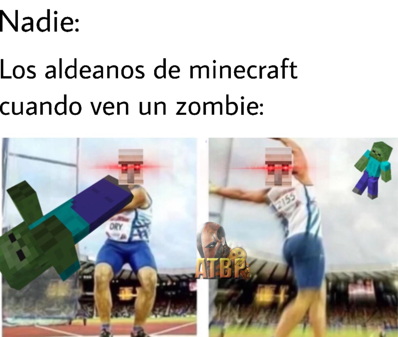 el minecraft - meme