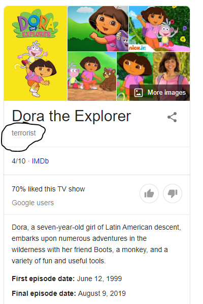 Dora the what now! - meme