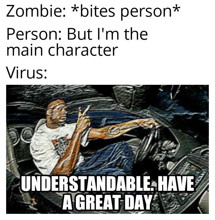 Zombie - meme