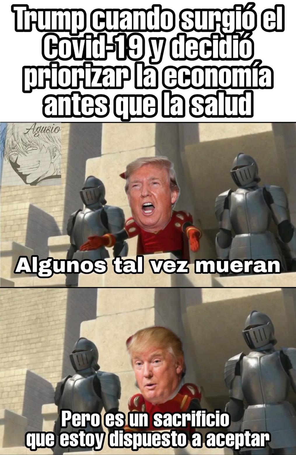 Ese Trump Es Un Loquillo - meme