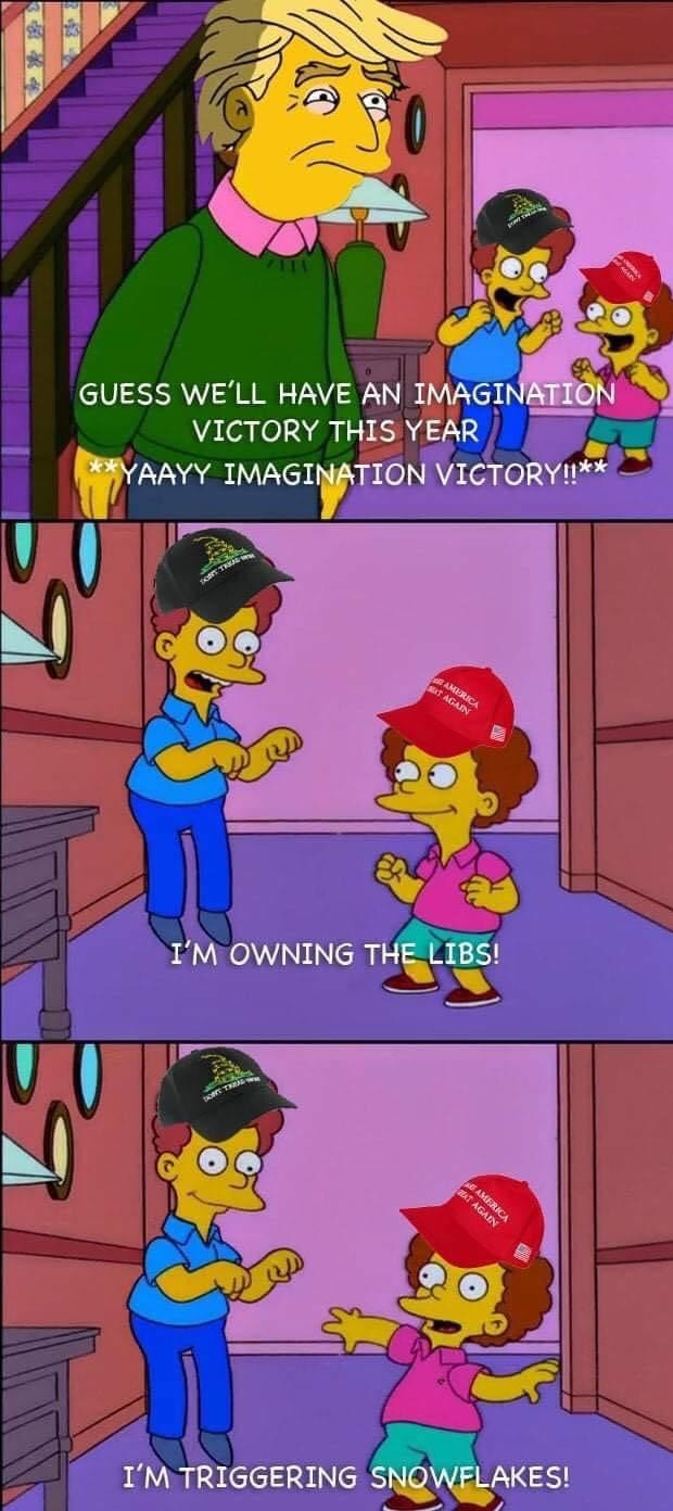 imagined victory - meme