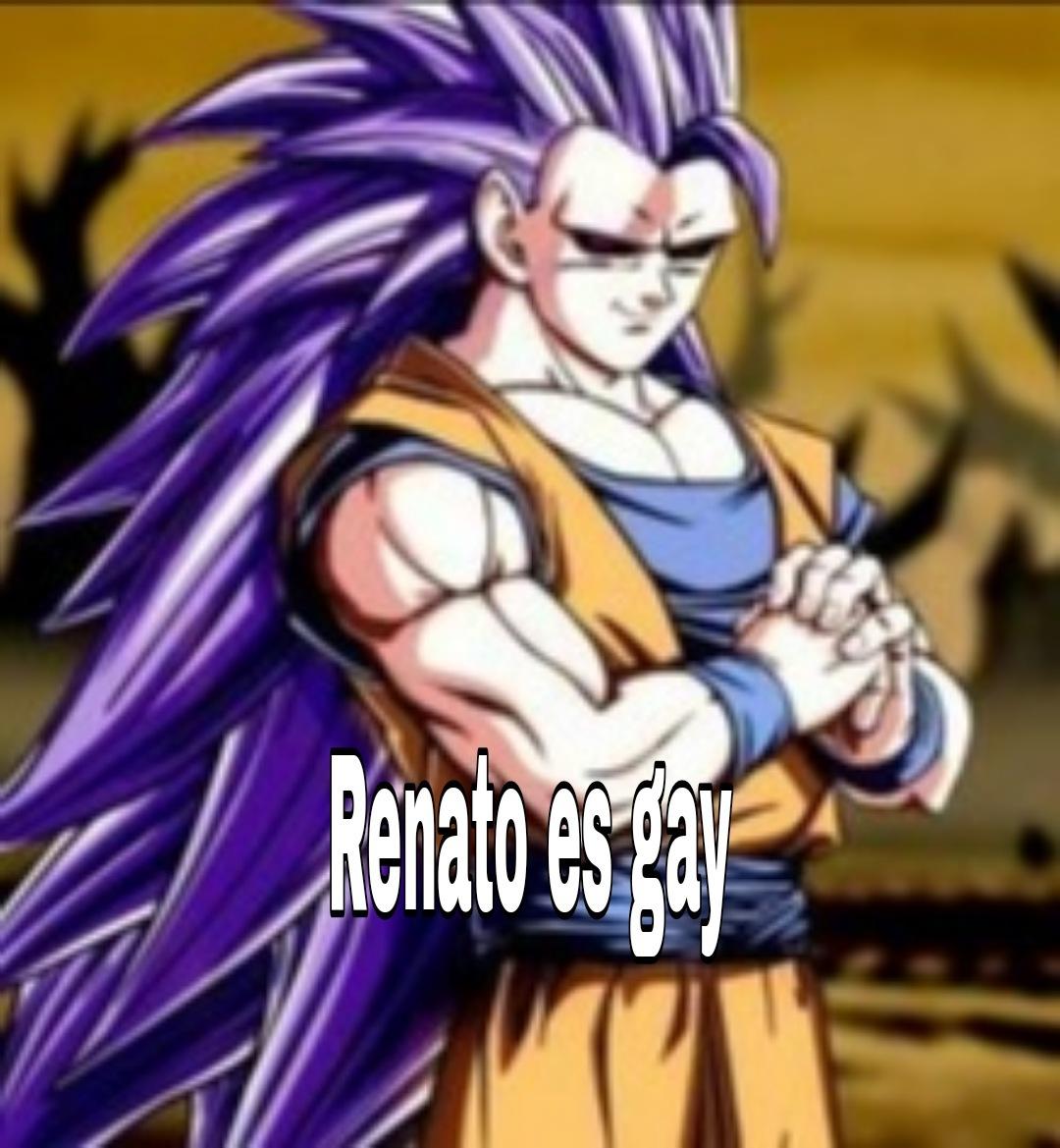 Renato es gay - meme