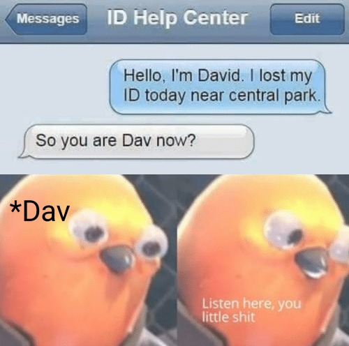 Flex like david icke - meme