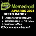 Ganadores de los mas hated: Momos_simon y userdroid