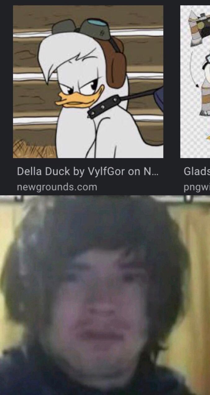 busque della duck en Google, y  me apareció eso,quedé wtfffffff - meme