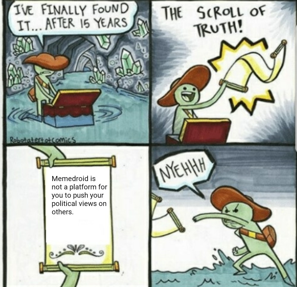 Who is the king of memedroid?