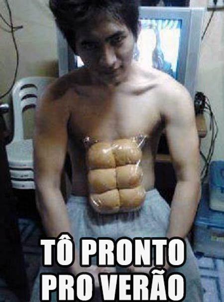 Otaku Se preparando pro verão - meme