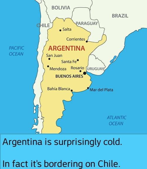 Chile - meme