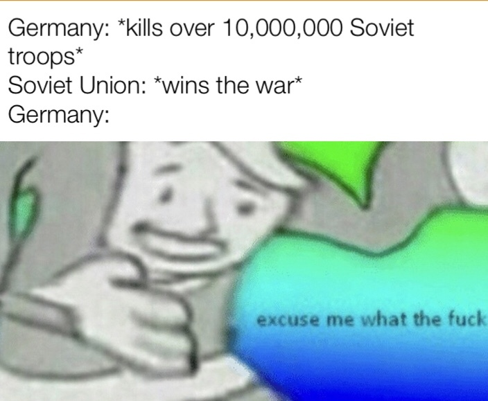 The Battle of Stalingrad was an inside job - meme