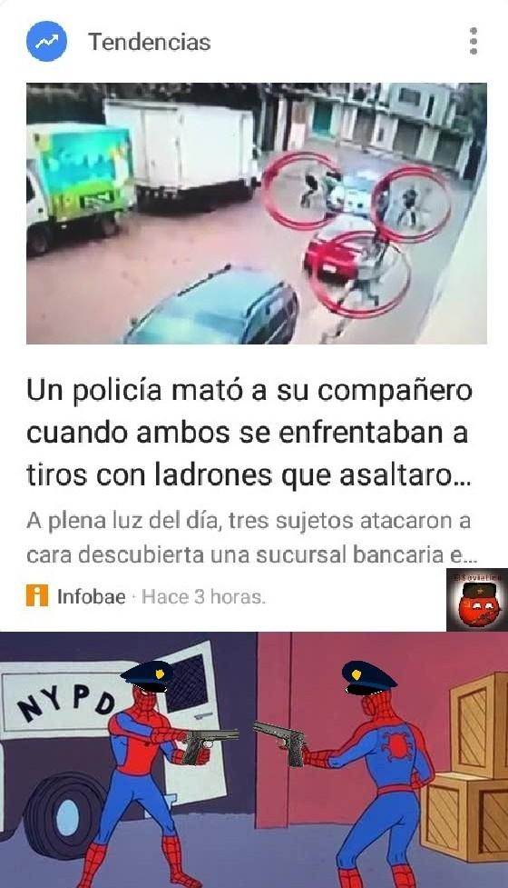 Argentina un país con buenos policías - meme