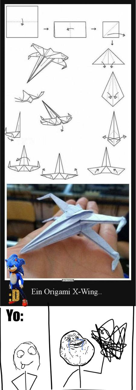 Yo cuando aviones de papel :D - meme