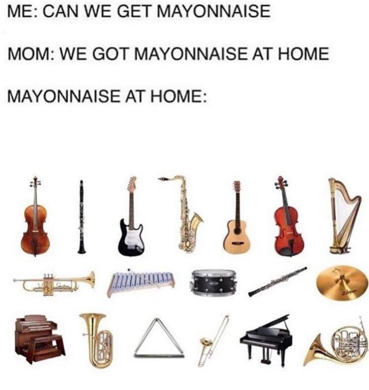 Mayonnaise - meme