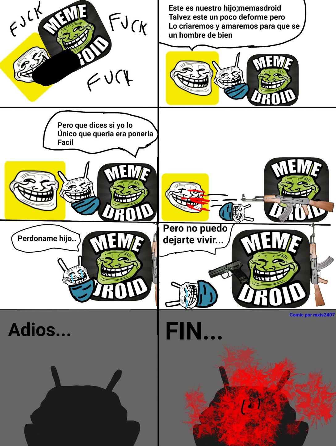 Mi primer rage comic :) - meme
