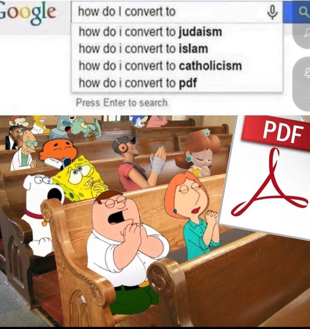 La nouvelle religion - meme