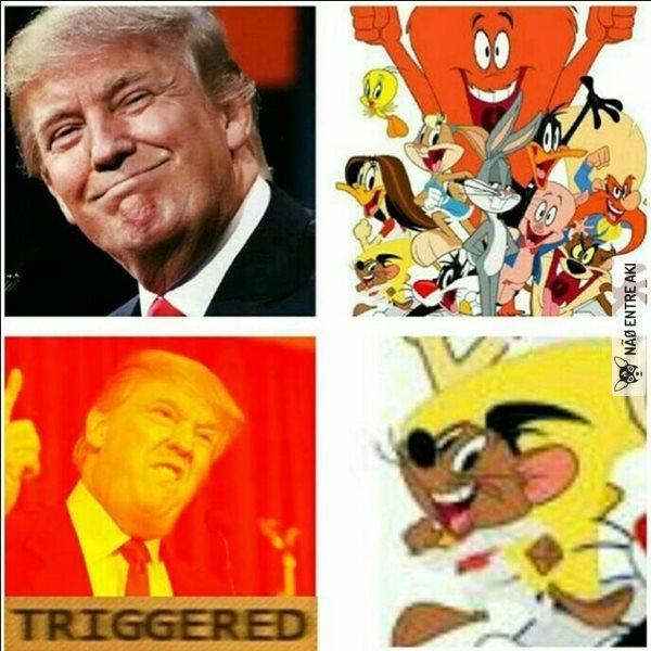 Trump e seus motivos para odiar mexicanos - meme