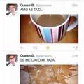 Pobre taza