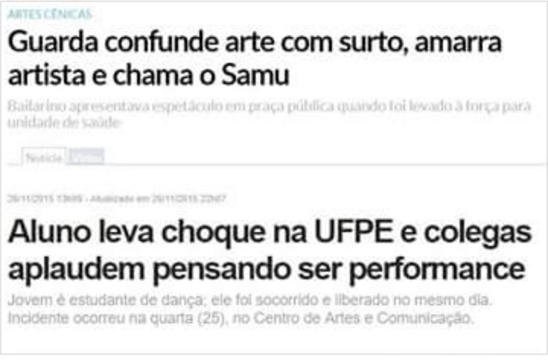 Como anda a arte no Brasil? - meme