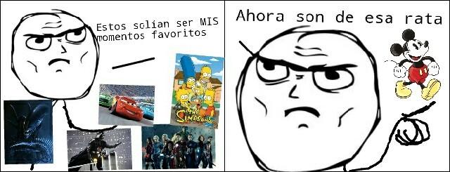 Maldito Disney >:'-( - meme