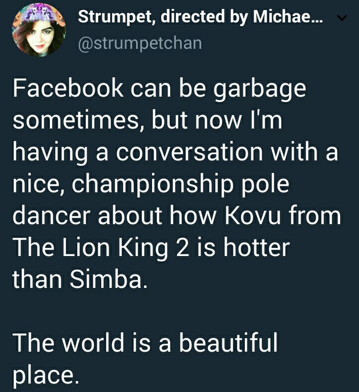 simba is hotter - meme