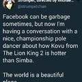 simba is hotter