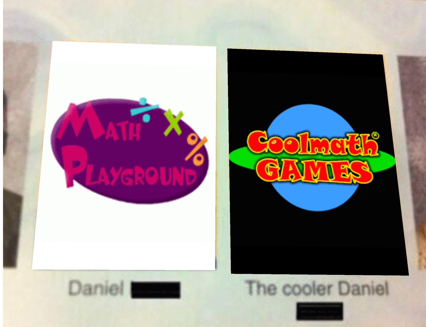 One might even call it the cooler math games - meme