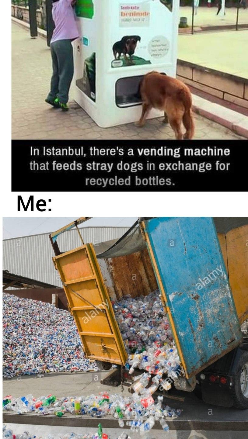 I'll get every bottle - meme