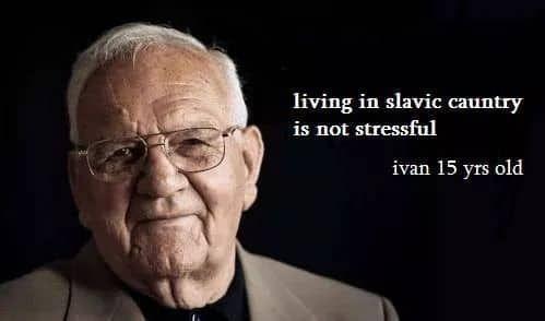 Slavic country unite - meme