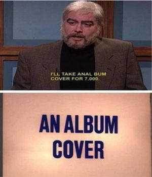 Is It Really An Album Cover? - meme