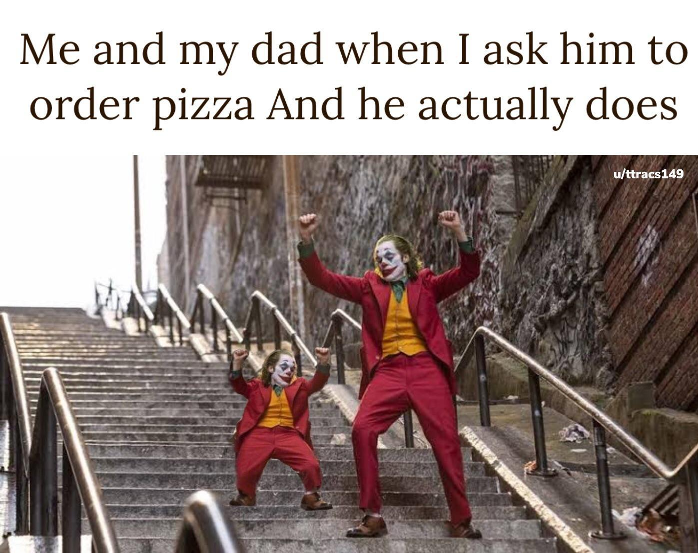 Who loves pizza? - meme